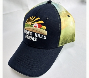 Scenery sublimated baseball cap