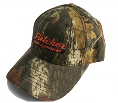 Outdoor camo baseball cap