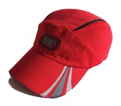 Performance mesh fabric racing cap
