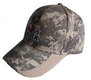 Camo outdoor sports cap