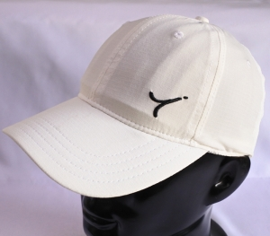 White basic baseball cap